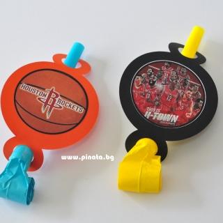 Парти свирка Баскетбол, Хюстън Рокетс, 5 бр. пакет