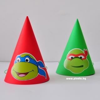 Парти шапка Костенурките Нинджа