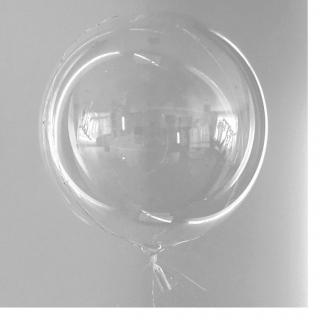 Балон Сфера прозрачен Bubble, диаметър 55 см