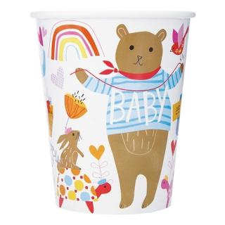 Хартиена парти чашка Зоо Бебе 250 мл, Zoo Baby