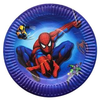 Хартиена парти чинийка Спайдърмен