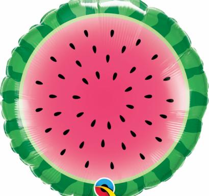 Фолиев балон Диня / Watermelon, 46 см лиценз Qualatex /Gd/