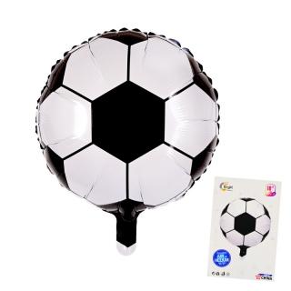 Балон футболна топка /фолио/, ф.45см