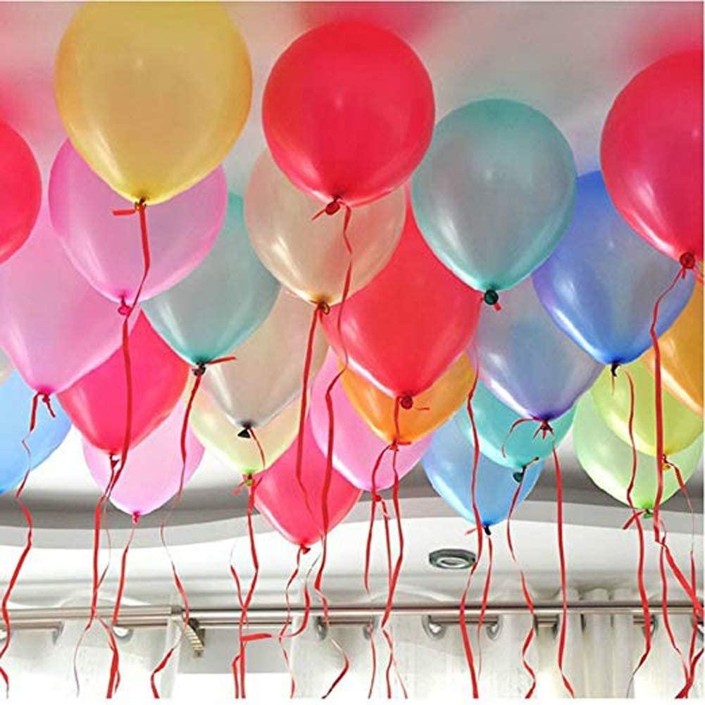 Лента със самозалепващи се стикери за балони, 100 бр. двойнолепящи