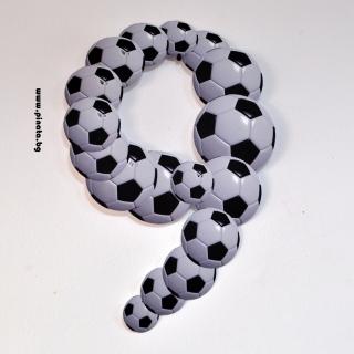 Тематична фигура цифра 9 за декорация
