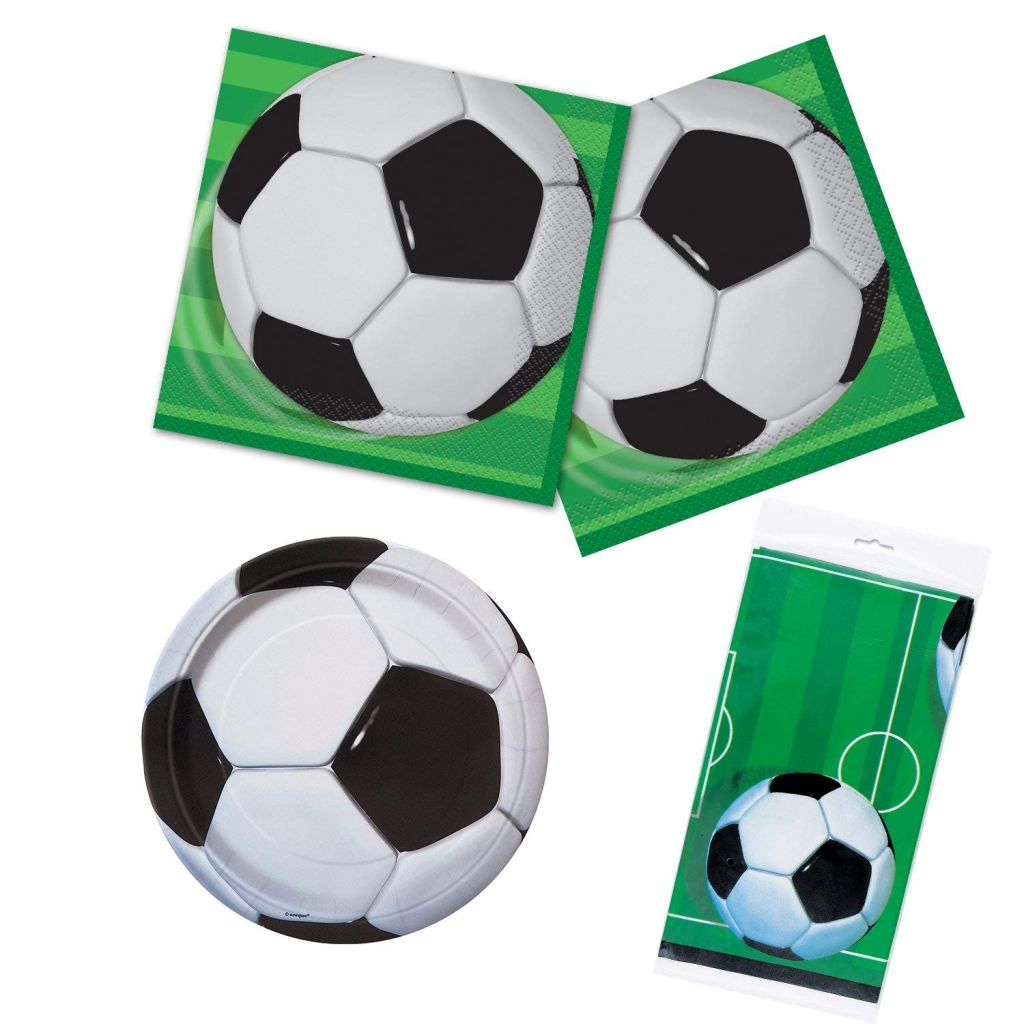 Парти салфетки Футбол / Soccer, 16 бр в пакет лиценз