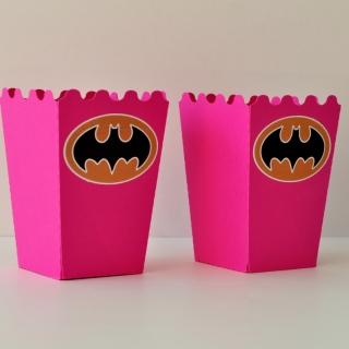Персонализирана парти кутийка за пуканки Батман