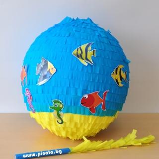 Пинята Риби Морско дъно, диаметър 40 см