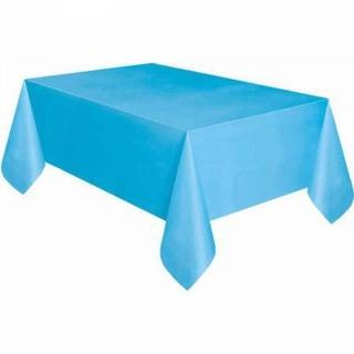 Покривка за еднократна употреба, светло синя 137х274 см