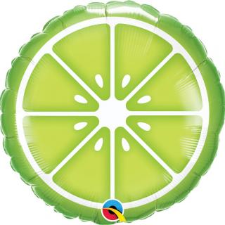 Фолиев балон Лайм / Lemon, 46 см лиценз Qualatex /Gd/