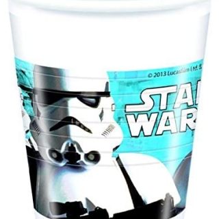 Пластмасова парти чашка Междузвездни Войни, лицензирана Дисни