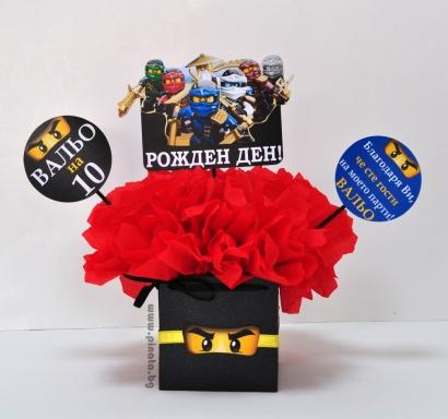 Парти украса за маса Лего Нинджаго