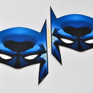 Парти маска Батман, 6бр. пакет, лицензирани DC Comics