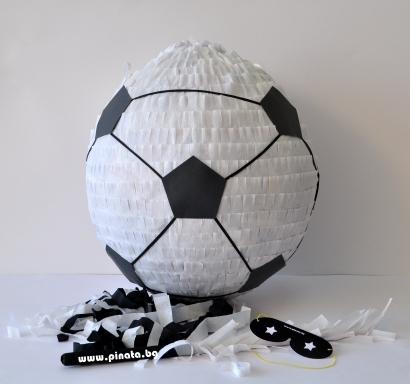 Пинята футболна топка диаметър 40 см / Pinata Soccer Ball