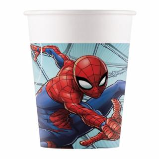 Хартиена парти чашка Спайдърмен / Spiderman, 8 бр. в опаковка /Gd/