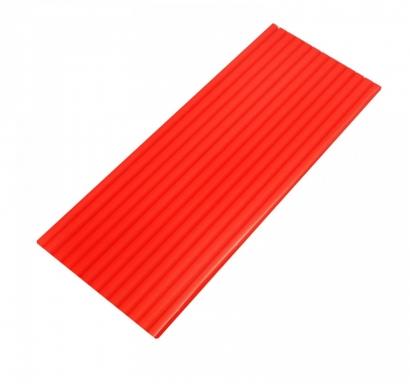 Сламки червени картон тип