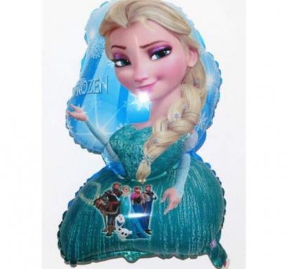 Фолиев балон Елза Замръзналото Кралство 65 см