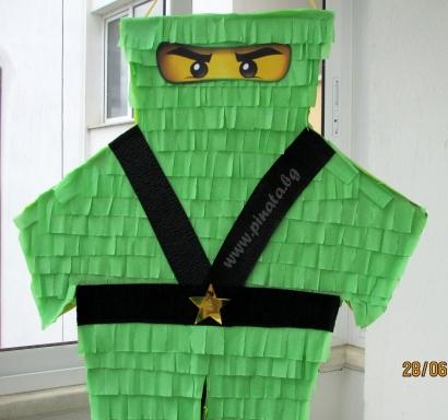Пинята Лего Нинджаго фигура вис.60 см, шир. 56 см