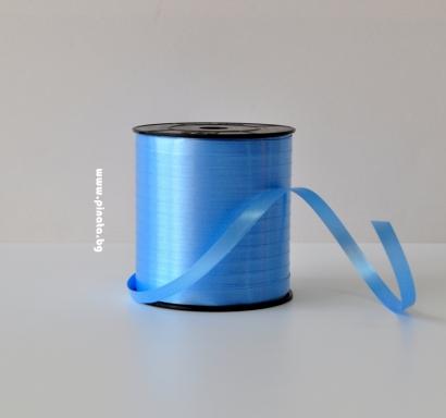 Лента за връзване на балони светло синя /10 метра/