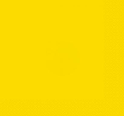 Парти салфетки жълти неон, 20 бр в пакет