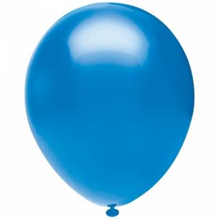 Балон син пастел, диаметър 30 см, 10 бр. в пакет