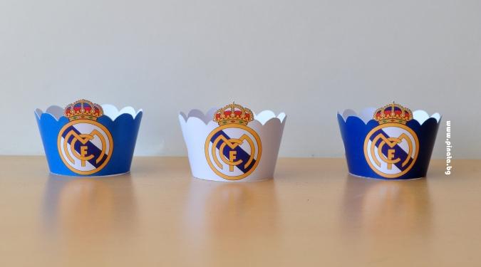 Подложка за мъфини Реал Мадрид
