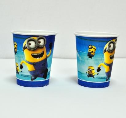Хартиена парти чашка Миньони