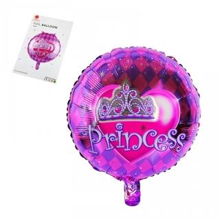 """Балон """"Princess"""" Принцеса /фолио/, 45х45 см"""