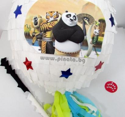 Пинята Кунг Фу Панда диаметър 40 см / Kung Fu Panda