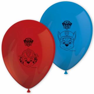 Комплект латексови балони Пес Патрул, 30 см диаметър, 8 бр. в опаковка, микс цветове  /Gd/