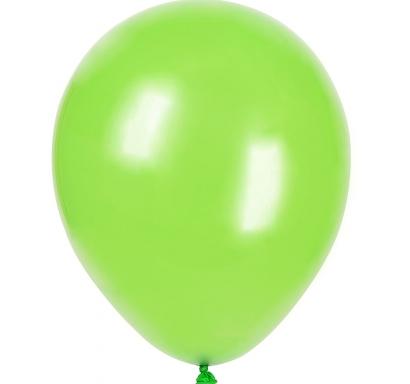 Балон светло зелен пастел, диаметър 30 см, 10 бр. в пакет