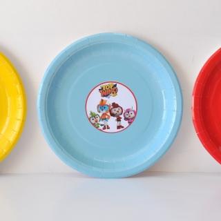 Персонализирана хартиена парти чинийка Топ Кадети
