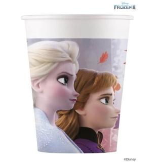 Хартиена парти чашка Елза и Ана Замръзналото Кралство 2 / Frozen 2, лицензирана Disney