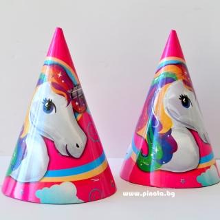 Парти шапка Еднорог