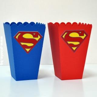 Парти кутийка за пуканки Супермен
