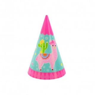 Парти шапка Лама, 6 бр пакет