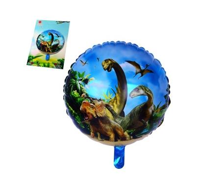 Фолиев балон Динозаври 45 см