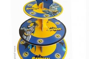 Стойка за мъфини Батман лиценз, три нива