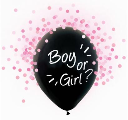Балон за разкриване пола на Бебето
