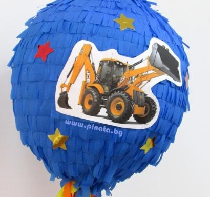 Пинята Трактор диаметър 40 см/