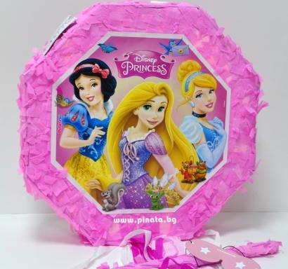 Пинята Всички Принцеси Дисни 40х40 см, лицензирана Дисни